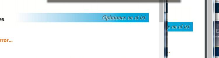 Opiniones en el IRI