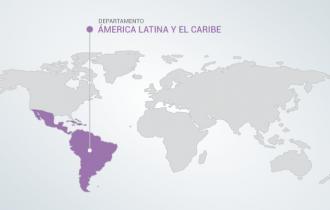 A. Latina y el Caribe