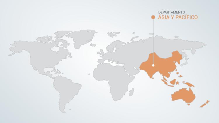 Asia y Pacifíco