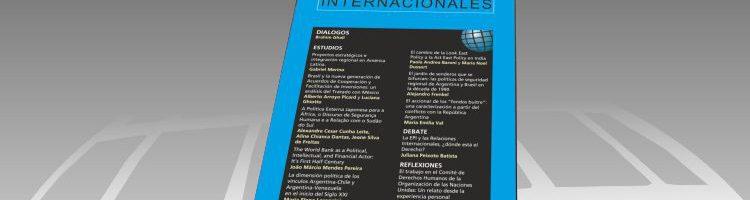 Revista Relaciones Internacionales Nº 52