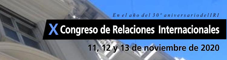 X Congreso de Relaciones Internacionales