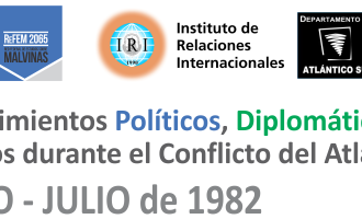Cronologia documentada del Conflicto en el Atlántico Sur
