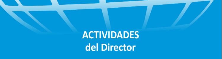 Actividades del Director