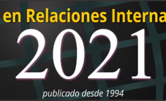 Anuario en Relaciones Internacionales 2021